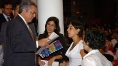 Alexandre Padilha visita a FSP. Foto: Cecilia Bastos / Jornal da USP