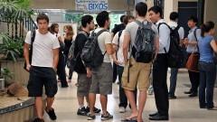 Recepção aos novos alunos da FEA. Foto: Cecília Bastos/Jornal da USP