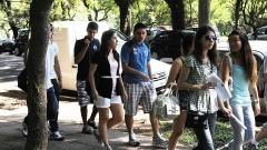 Recepção aos novos alunos da USP. Foto: Cecília Bastos/Jornal da USP