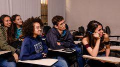 Alunos da ECA, curso propaganda, relações pública e turismo. Foto: Cecília Bastos/USP Imagem