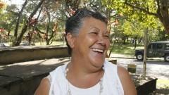 Dona Ana Maria Almeida Fernandes. Foto: Marcos Santos/USP Imagens