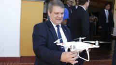 Patrulhamento Aéreo com Drone. Faculdade de Zootecnia e Engenharia de Alimentos (FZEA)
