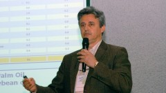 Antonio Jose Meireles no encontro sobre Agroenergia na USP. Foto: Francisco Emolo/Jornal da USP