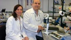 ICB. Alda Madeira e Arthur Gruber. Foto: Cecilia Bastos/Jornal da USP