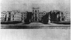 Fachada do edifício onde funcionaram as primeiras instalações da Faculdade de Filosofia, Letras e Ciências (FFLC), na Avenida Doutor Arnaldo. Foto: Acervo CAPH / FFLCH