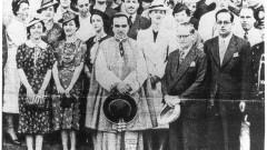 Formandos de 1937. Segunda (2ª) turma de alunos formada. Foto: Acervo CAPH / FFLCH