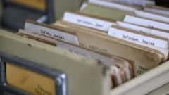 Ficharios de livros na Biblioteca Mário de Andrade. foto Cecília Bastos