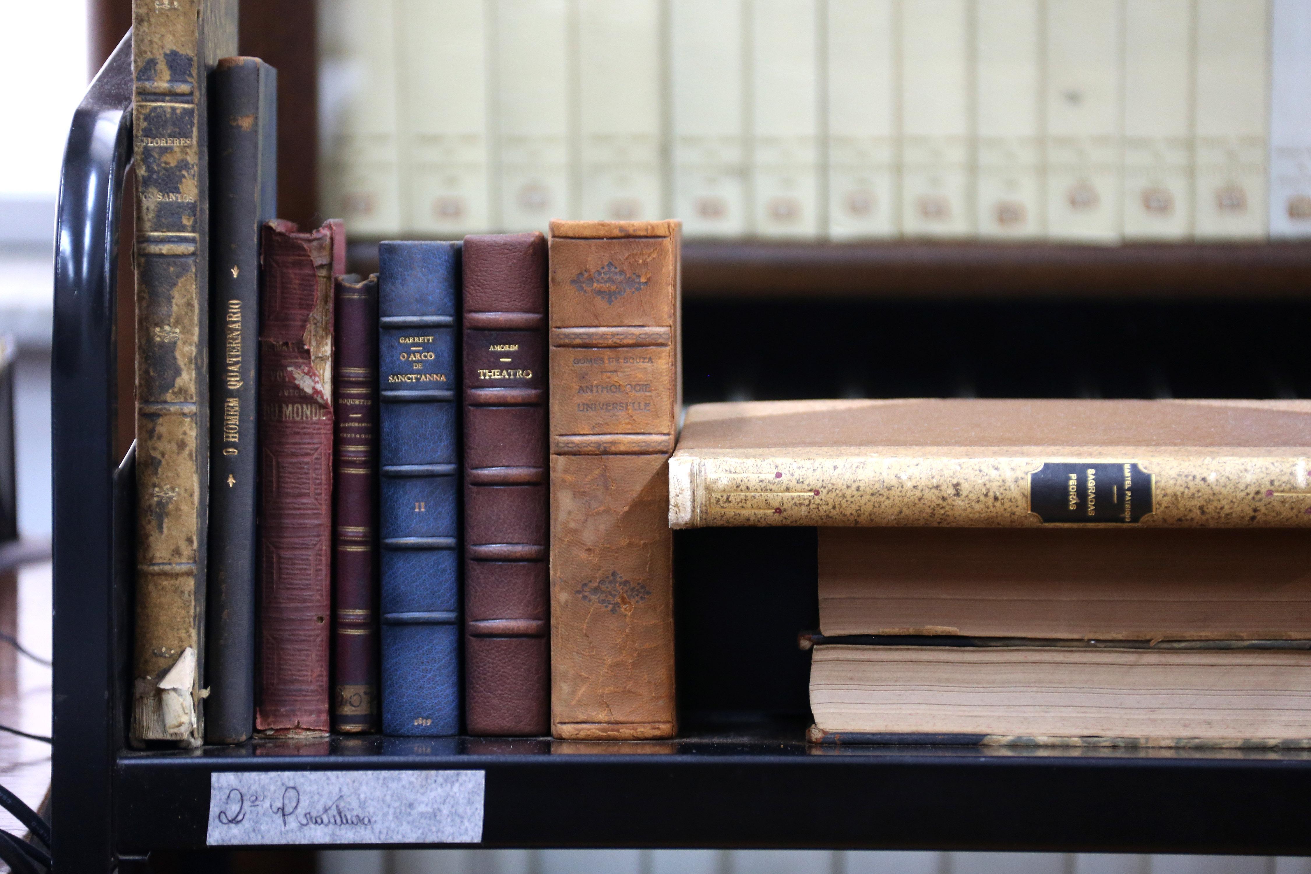 Acervo de livros raros na biblioteca Mario de Andrade.foto Cecília  #836048 4500x3000