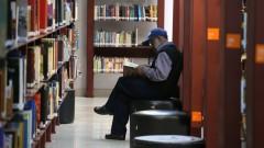 Leitor na Biblioteca Mário de Andrade. foto Cecília Bastos/USP Imagem