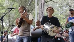 Biro do Cavaco e Osvaldinho da Cuíca. Show 40 anos da Rádio USP. 2017/10/11 Foto: Marcos Santos/USP Imagens