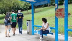 Calouros participam de trote no primeiro dia na USP. Foto: Cecília Bastos/USP Imagem