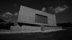 Detalhe de imagem do Complexo Brasiliana em preto e branco. Foto: Marcos Santos/USP Imagens