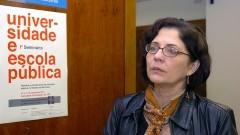 Carmen Sylvia Vidigal Moraes, coordenadora da VIII Semana de Educação - Universidade e Escola Pública. 267-11 Foto: Cecília Bastos/Jornal da USP