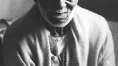 Dionísio Barbosa, aos 85 anos, fundador do primeiro cordão carnavalesco paulista, O Grupo Carnavalesco da Barra Funda, mais tarde popularmente chamado de Camisa Verde. (USP Imagens)