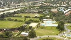 Foto aérea do Centro de Práticas Esportivas (Cepe). Foto: Jorge Maruta / Jornal da USP