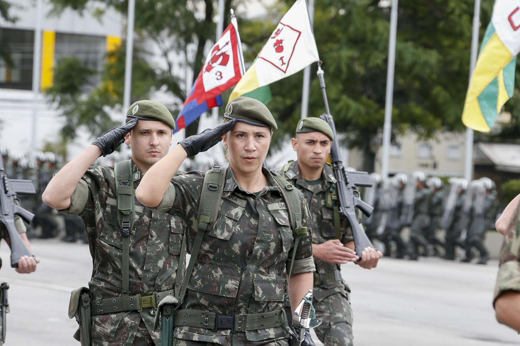 Exército Brasileiro – Comando Militar do Sudeste II » USP Imagens ...