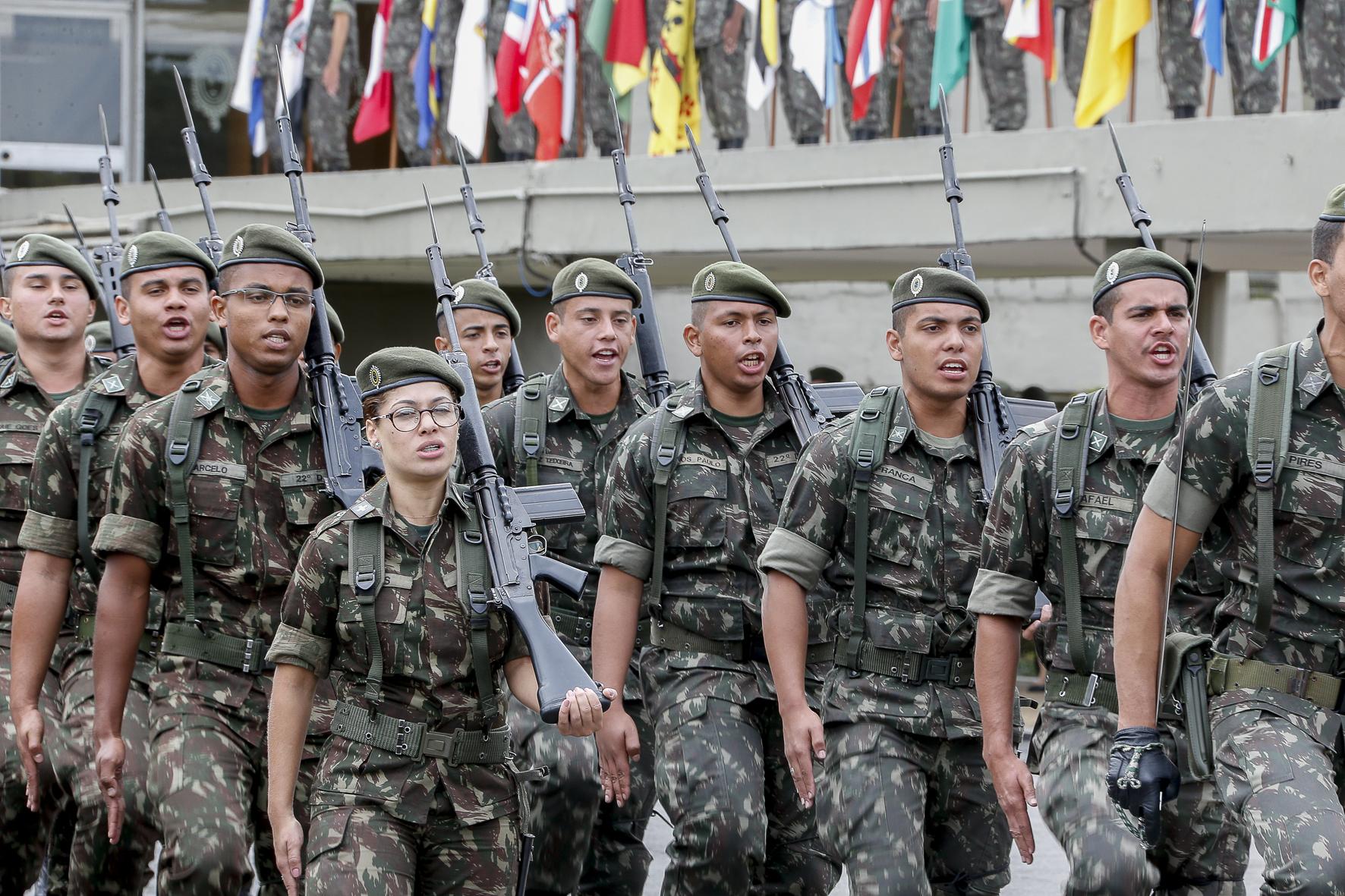 Comando Militar do Sudeste no dia do Exército. Foto: Marcos Santos ...