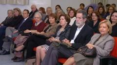 Ex reitora Suely Vilela e professores de outras unidades prestigiando o evento comemorativo aos 40 anos do IP/USP. Foto: Cecília Bastos/Jornal da USP