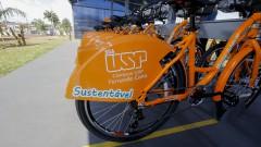 FZEA. Novo sistema de bicicletas compartilhadas no  campus de Pirassununga. 2017/05/02 Foto: Marcos Santos/USP Imagens