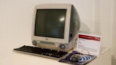 Computador Apple iMac G3 fabricado em 2001. Museu de Computação Professor Odelar Leite Linhares. 2017/10/05 Foto Marcos Santos/USP Imagens