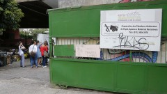FAU - Faculdade de Arquitetura e Urbanismo. Matéria optativa na COOPAMARE - Cooperativa dos Catadores Autônomos de Papel, Aparas e Materiais Recicláveis. 2017/05/31 Foto: Marcos Santos/USP Imagens