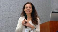 Diana Sousa no Encontro sobre Agroenergia na USP. Foto: Francisco Emolo/Jornal da USP