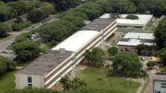 Foto aérea da Escola de Comunicações e Artes (ECA). Foto: Jorge Maruta / Jornal da USP