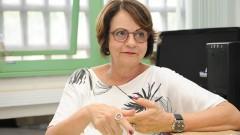 reg. 070-16 ECA. Projeto teatro engajado. Professora Maria Cristina Castilho Costa presidente da Comissão de Pesquisa da ECA. Foto: Marcos Santos/Jornal da USP