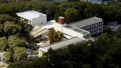 Vista aérea da Escola de Enfermagem (EE). Foto: Jorge Maruta / Jornal da USP