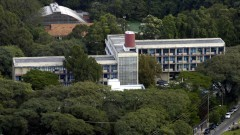 Foto aérea da Escola de Enfermagem (EE). Foto: Jorge Maruta / Jornal da USP