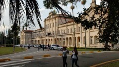 Edíficio Central ESALQ. Foto: Francisco Emolo / Jornal da USP