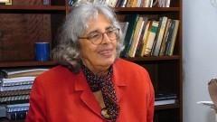 Ecléa Bosi. Professora Titular (1982), Departamento de Psicologia Social e do Trabalho. Foto: Francisco Emolo/Jornal da USP