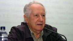 Palestra de Eduardo Basaglia no Seminário Filosofia e Educação_ Universidade. Foto: Cecília Bastos/Jornal da USP