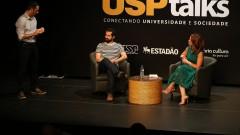 USP Talks. Conectando Universidade e Sociedade. Tema: Tecnologia Promovendo a Transparência.