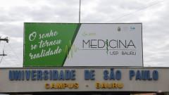 Entrada do campus de Bauru.  Novo curso de Medicina de Bauru. 2017/08/01 Foto: Marcos Santos/USP Imagens