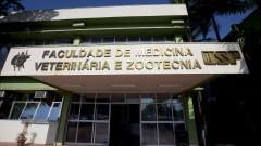 reg. 113-16 FMVZ Fachada do Prédio da Administração  da Faculdade de Medicina Veterinária - FMVZ.  03/05/2016 Foto: Marcos Santos/USP Imagens