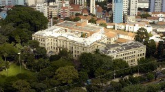 Aérea Faculdade de Saúde Pública da USP em 2007. Foto: Jorge Maruta / Jornal da USP