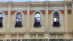 Fachada do Museu da Língua Portuguesa após incêndio ocorrido dia 21 de dezembro de 2015. 07/01/2016 Foto Marcos Santos/Jornal da USP