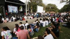 A 9ª Feira de Profissões da Universidade aconteceu no Parque Cientec nos dias 6, 7 e 8 de Agosto. Foto: Marcos Santos/USP Imagens