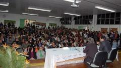 Ministro Fernando Haddad e diretora da FE, Lisete Arelaro na VIII Semana de Educação - Universidade e Escola Pública 267-11 Foto: Clara Bueno/FEUSP