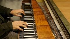 Detalhe do Forte Piano da ECA. foto Cecília Bastos/Usp Imagens