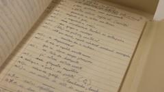 IEB - Instituto de Estudos Brasileiros. Manuscritos de João Guimarães Rosa. 2017/02/15 Foto: Marcos Santos/USP Imagens