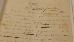 IEB - Instituto de Estudos Brasileiros. Manuscritos de Graciliano Ramos. 2017/02/15 Foto: Marcos Santos/USP Imagens