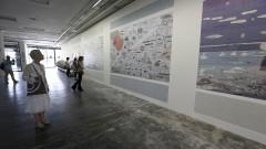 32ª Bienal de São Paulo - Incerteza Viva. Transbordamento: Mapa Universal, Rikke Luther. 2016/09/05 Foto: Marcos Santos/USP Imagens