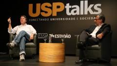 Usp Talks. Conectando Universidade e Sociedade - Mundaças Climáticas. Frederico Pereira Barndini, IOUSP e Paulo Eduardo Artaxo Netto, IFUSP. 2016/11/30 Foto: Marcos Santos/USP Imagens
