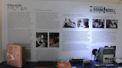 reg. 87-16 Fundação Dorina Nowill. Acessibilidadde de pessoas com deficiência. Centro de memória. 24/03/2016 Foto: Marcos Santos/Jornal da USP