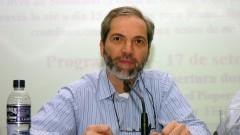 Palestra de Gabriel Perissé no Seminário Filosofia e Educação_ Universidade. Foto: Cecília Bastos/Jornal da USP
