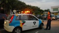 Ação da Guarda Universitária na Cidade Universitária. Foto: Cecília Bastos / Jornal da USP