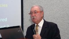 Gustavo Beste no Encontro sobre Agroenergia na USP. Foto: Francisco Emolo/Jornal da USP