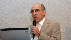 Harris Lazarides no Encontro sobre Agroenergia na USP. Foto: Francisco Emolo/Jornal da USP